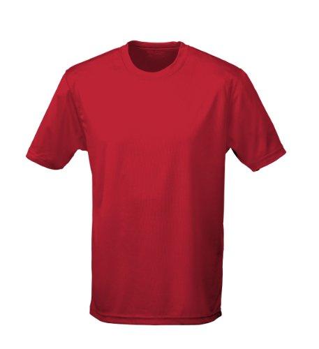 Just Cool - Performance T-Shirt, atmungsaktiv XL,Hot Chilli Rot -