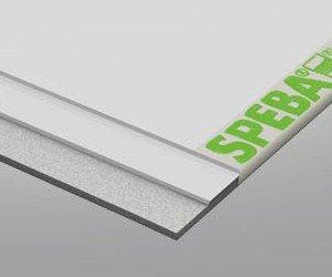 Preisvergleich Produktbild Speba Gleitfolie Typ 301 175mm 2, 50m kaschiert - Hartschaum unterseitig