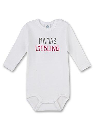 Sanetta Unisex Baby Body 322242, Weiß (White 10), 80 (Herstellergröße: 80)