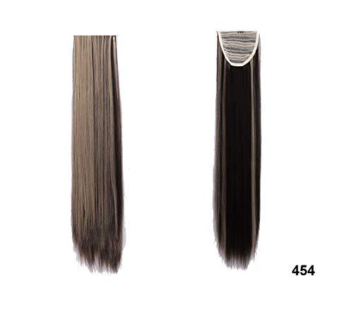 Lange lockiger Klipp in der falschen Haaren Pferdeschwanz Haarteil mit Haarnadeln synthetischen Haar-Pony-Endstück-Haar-Verlängerung, 454,23 Inches -