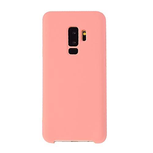 Schutzhülle für Samsung Galaxy S9 Plus, weiches Silikon, Gummi, Innenfutter, für S9, Galaxy S9 Plus, Rose