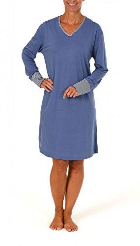 Normann Copenhagen - Chemise de nuit - Femme Bleu