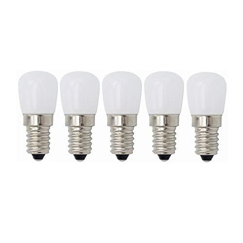 Yumeik 3W LED-Birnenlicht warmweiß kaltweiß 110V 120V E14 5er-Pack [Energieklasse A ++] (Farbe : Warmweiß) -