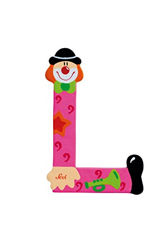 Sevi 81748 - lettera l clown,colori assortiti