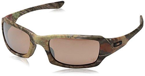 Oakley Herren 0Oo Fives Squared 923816 54 sonnenbrille, Braun (King Woodland Camo),