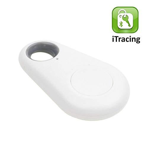 Dispositivo Rastreador GPS por Bluetooth Antipérdida Antirobo Etiqueta Inteligente iTag Tamaño Mini...