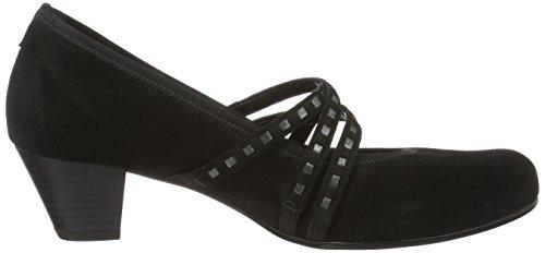 Gabor Shoes Comfort, Scarpe con Tacco Donna Nero (schwarz 47)