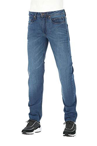 Reell Herren Nova 2 Jeans, blau, 29/3 EU Slim Leg Chino Pants