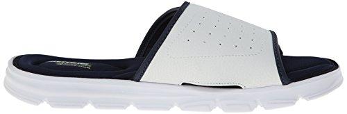 Skechers Sport Vent Diapositive Swell Sandal White/navy