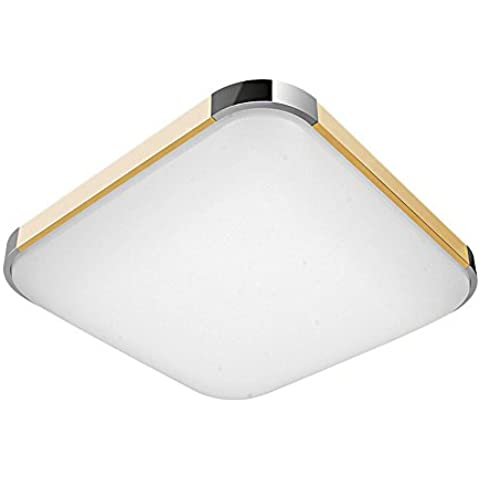 SAILUN 24W LED Blanco Frío Moderno Lámpara De Techo Lámpara De Techo Pasillo Salón Cocina Dormitorio De La Lámpara Ahorro De Energía De Luz De Oro