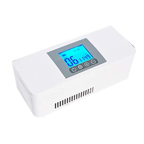 Ice Auto KüHlschrank Tragbare Insulin-KüHlbox Mini Wiederaufladbar Mit LCD-Display Insulin Kleinen KüHlschrank FüR Indoor - Home/Outdoor - Auto Zug Schiff