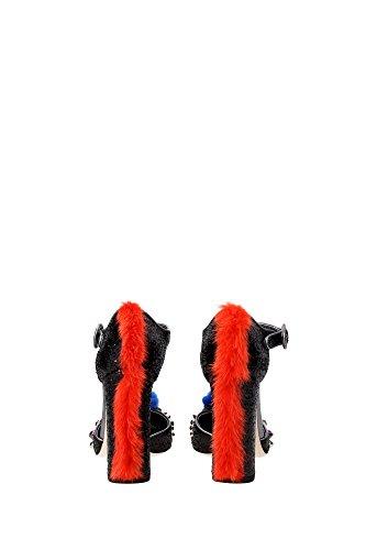 CD0603A8I128H959 Dolce&Gabbana Sandale Femme Glitter Multicouleur Multicouleur