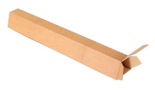 progressPACK Trapez-Versandverpackung Premium Extra PP T00.05 aus doppelter Wellpappe, DIN A1+, 705 x 105/55 x 75 mm, 20-er Pack, braun
