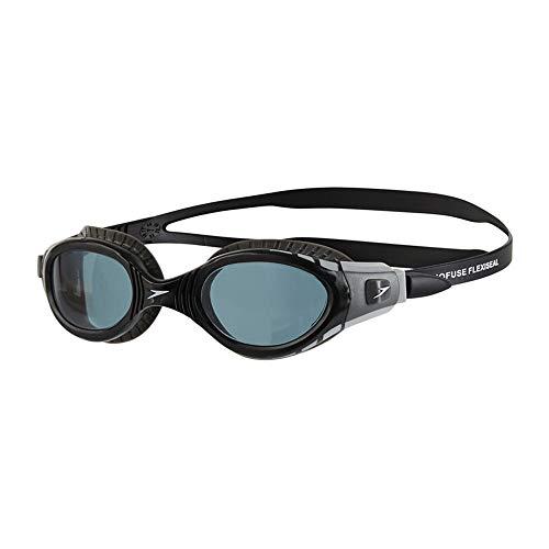 Unbekannt Wen Zhe Weiche und komfortable Schwimmbrille mit großem Gestell, wasserdicht und beschlagfrei (HD) Taucherbrille