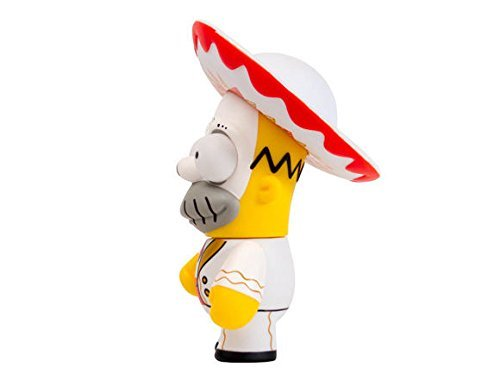 Kidrobot - Figurine - Les Simpsons - Day of the Dead Homer - 0883975129880 2