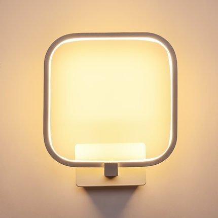 Louvra 12W led Wandleuchte Innen Moderne Minimalistische Wandlampe aus Aluminium Wasserdichte IP54 für Wohnzimmer Schlafzimmer Flur Treppen Cafe Bar usw.