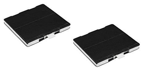 2x Aktive Kohlefilter geeignet für Dunstabzugshauben: Bosch Siemens Neff Constructa Junker BSH 703595 BSH 705431