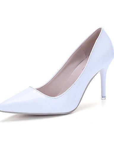 WSS 2016 chaussures similicuir talon aiguille talons talons bureau des femmes&carrière / partie&soir / noir casual / rouge / blanc pink-us6.5-7 / eu37 / uk4.5-5 / cn37
