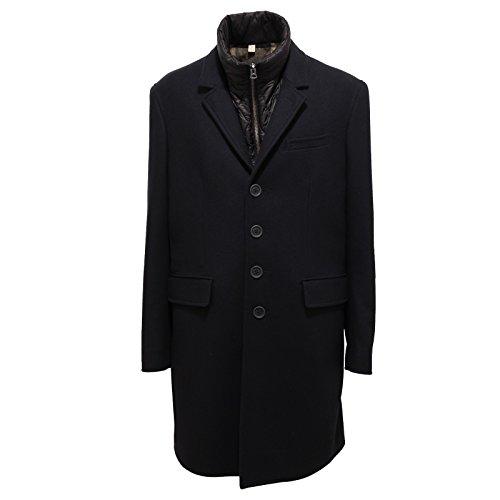 4516R cappotto uomo BURBERRY BRIT blu coat men [XL]