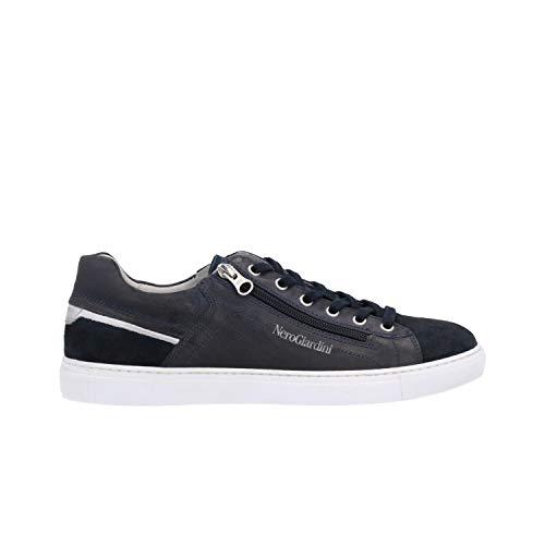 Nero Giardini Sneakers Blu Scarpe Uomo P900850U 42