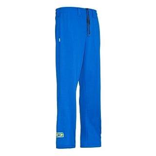 Original Brasilianische Capoeira Hose Unisex Blau Abada Martial Arts Elastische Pants