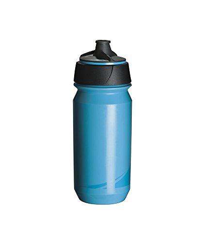 Tacx Trinkflasche Shanti Twist 500 ml mit Membranverschluß Colour, Blau Blau