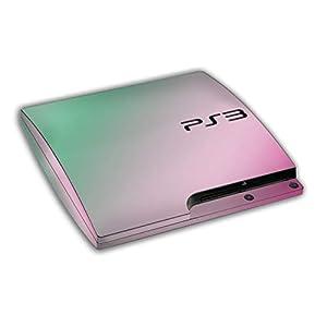 atFoliX Skin kompatibel mit Sony Playstation 3 Slim, Designfolie Sticker (FX-Variochrome-Spectral), Mehrfarbig schillerndes Farbspiel