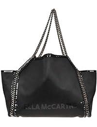Stella McCartney EZGL024033 Mujer Negro Cuero sintético Bolso tipo shopper