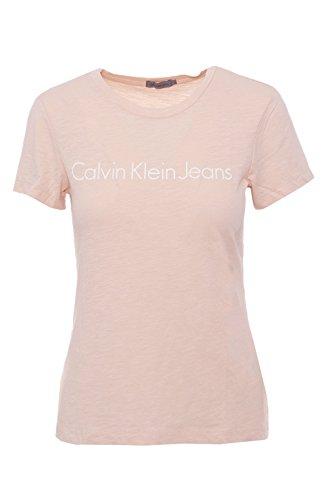 Calvin klein jeans t-shirt donna tamar-49 color j20j206438 xl rosa