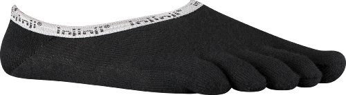 Nylon-ped Socken (Injinji Herren Sport Ped Toesocks, Herren, schwarz, M)