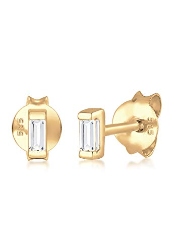 Elli Premium Damen-Ohrstecker 14_k_(585) Gelbgold Topas 0308912517 (Frauen-stud 14k Ohrringe Für Gold)