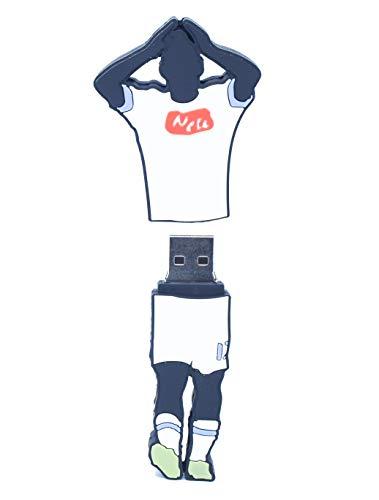 Football usb - chiavetta usb drive 3.0 con forma di hamsik maglia napoli 32 gb unità di memoria flash penna disk pen drive alta velocità