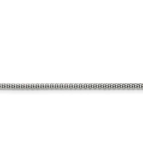 icecarats Anhänger Edelstahl 2,5mm 50,8cm Bismark Kette Halskette 50,8cm (20-dollar-gold-zertifikat)