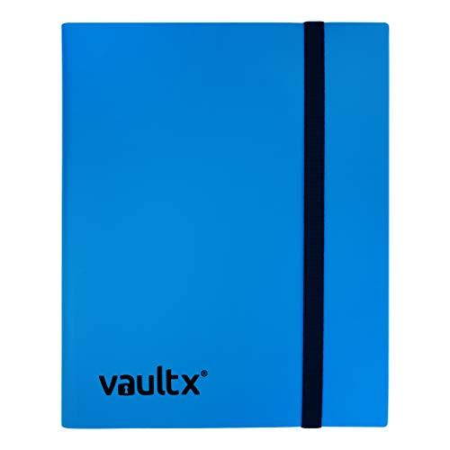 Vault X Heftmappe - 9 Fächer Sammelkarten Trading Cards Mappe - 360 Fächer mit Seitenöffnung für Spielkarten zum sammeln und tauschen - 9 X 9 Binder