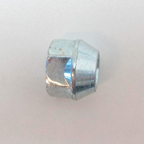 H&R 122560001 Boulon Conique M12x1.25-Longueur 60mm, Argent