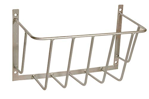 Eider Heuraufe, kleines Modell verzinkt, 50 x 35 x 21 cm - Stababstand: 80 mm - Stabstärke: 10 mm