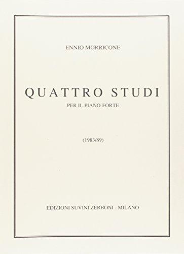 Quattro Studi (1984/89) Per Pianoforte