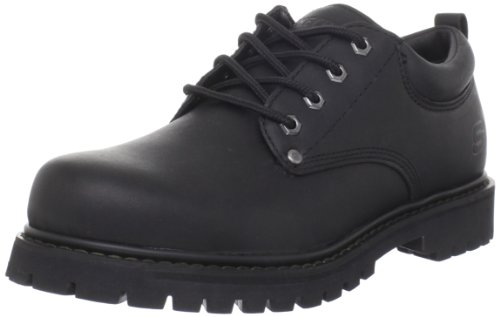 Skechers Men's Tom Cats Ankle Boots, Black (Black), 10 UK 45 EU