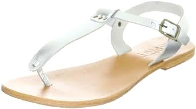 ESPRIT Paris Thong E05558, Damen Sandalen/Fashion-Sandalen, Silber (silver 042), EU 39