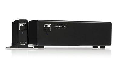 NAD DAC 2 convertitore D/A 24bit-192kHz Wireless