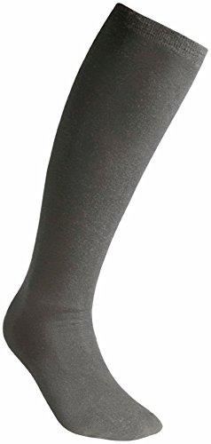 Knee Farbe High Socken (Woolpower Liner Knee-High Socks Unisex grey Größe 45-48 2017 Socken)