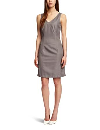 ESPRIT Damen Kleid, Grau-Granitgrau, 36