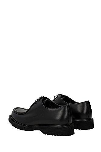 En Rodeo Oxford À Cuir Lacets Chaussures Homme Classiques Noir Prada  qgxUSwXx eb69e31f7022