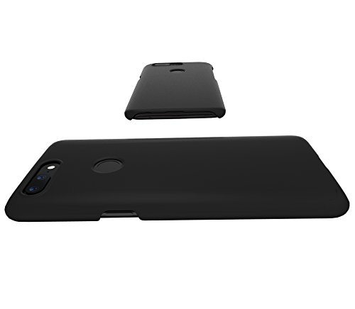 Amazon Brand - Solimo OnePlus 5T Mobile Cover (Hard Back & Slim), Black