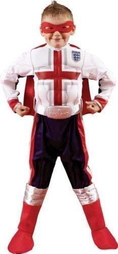� Fußball Kostüm Jungen Weihnachten Kostüm Maske Umhang & Gürtel ()