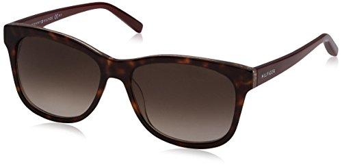 Tommy Hilfiger Unisex-Erwachsene TH 1985 K8 MJG 56 Sonnenbrille, Rot (Gltbrgn/Brown),