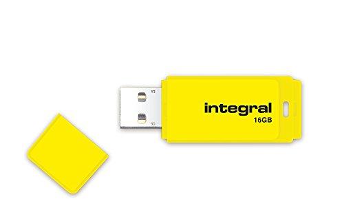 Integral 16GB NEON USB Stick gelb