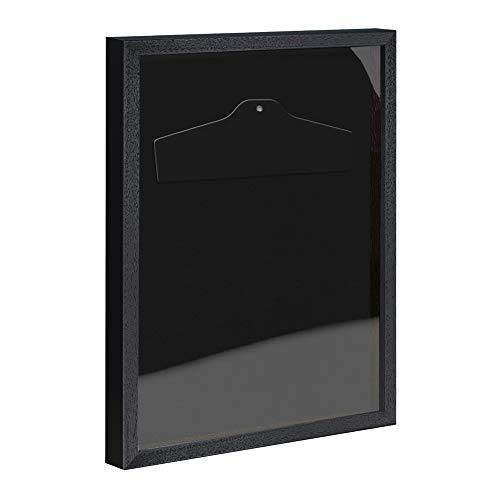 Objektrahmen Trikotrahmen VARIO inkl. Bügel und Passepartout 70x90cm Schwarz (lackiert)
