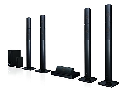 LG LOUDR LHB655NW Home Theatre Speaker System - Black