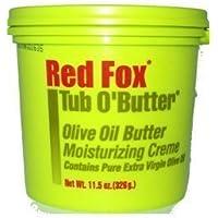 Red Fox Blister O Burro Olio D'oliva Crema Idratante 326g